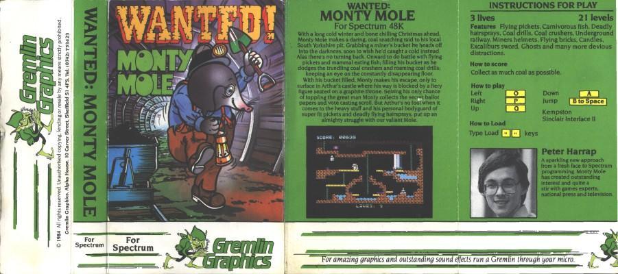 Wanted: Monty Mole